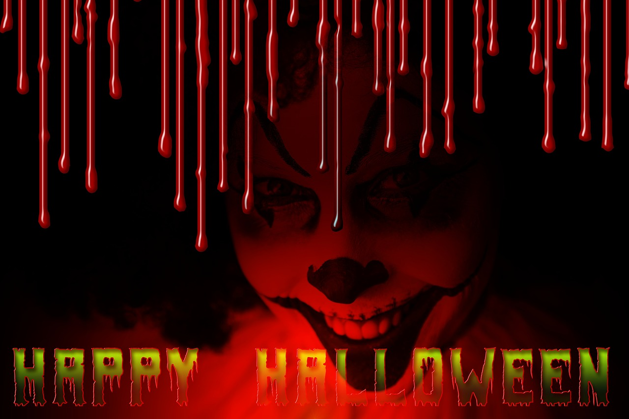geralt / Pixabay Archivbild Halloween Clown