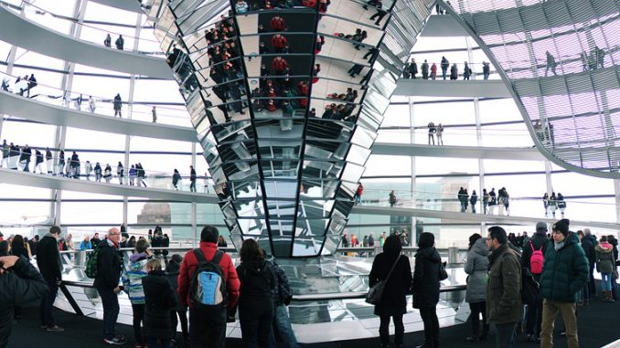Berlin Reichstag Dome Government