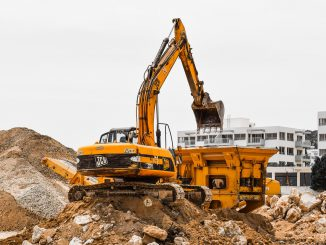 Construction Site Heavy Machines