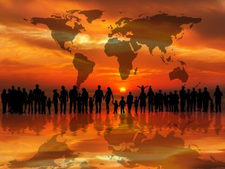 Sunset Sunrise Continents Personal