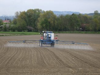 Tractor Agriculture Field Inject