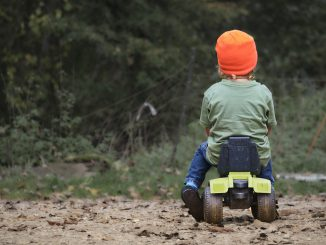 Tractor Exit Play Child