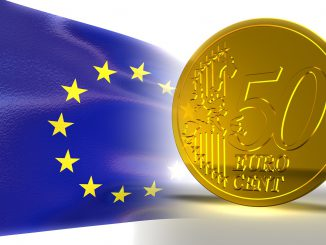 Euro Currency Coin Flag Eu