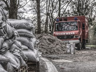 Sand Bags Sand Fire High Water