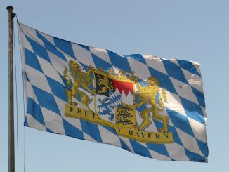 Bavarian Flag Flag Bavaria Germany