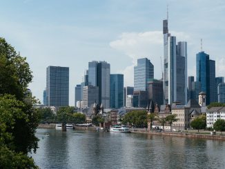 Frankfurt Skyline Germany City