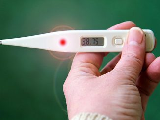 Thermometer Fever Number Hand