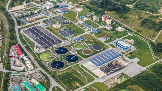 Treatment Plant Wastewater Refinery