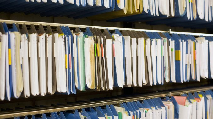 Archive Files Register Office