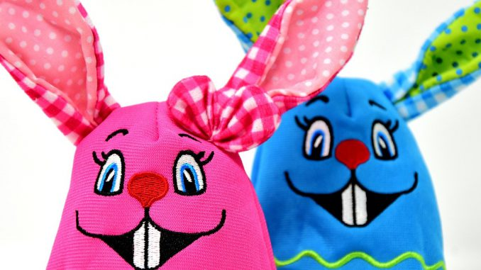 Easter Easter Bunny Colorful Color