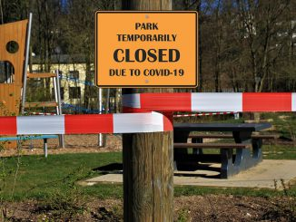 Park Closed Pandemic Coronavirus