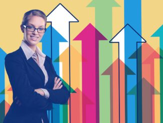 Businesswoman Statistics Arrows  - geralt / Pixabay