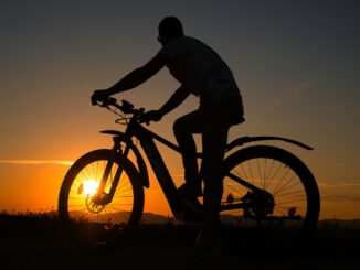 Sunset Bike Man Sun Person Human  - Anrita1705 / Pixabay