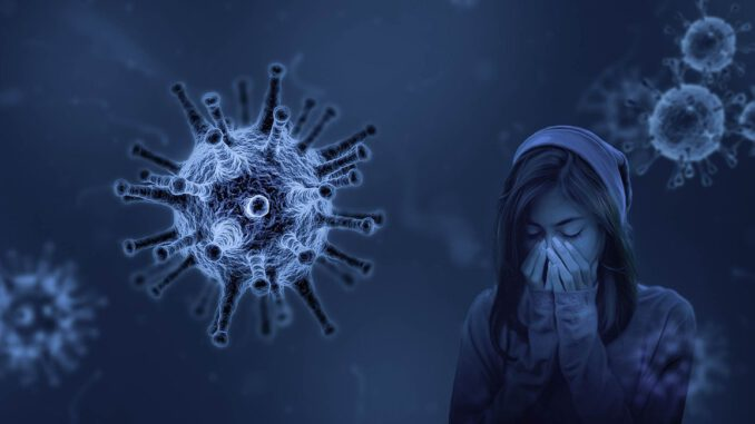 Girl Sick Virus Coronavirus  - Willgard / Pixabay