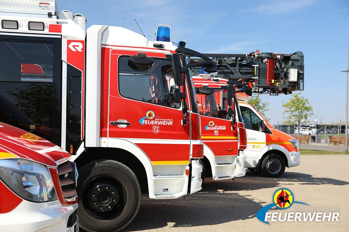 FW-MG: Brand einer Fritteuse