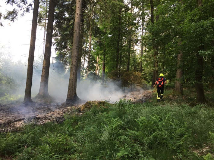 FW-OE: Waldbrand in Olpe